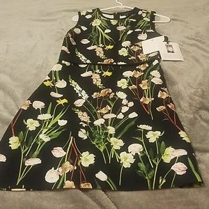 Victoria Beckham for Target flower printed dress